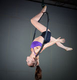 体操运动员 图库摄影