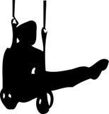 体操运动员 库存图片