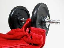 体操重量 图库摄影