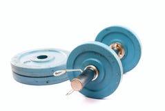 体操重量 免版税库存照片