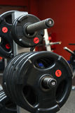 体操重量 免版税库存图片