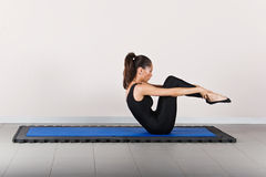 体操pilates 库存照片