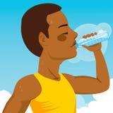 体育人饮用水 库存例证