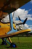 体育双翼飞机航空器2 免版税库存图片
