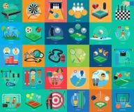体育和奖概念设计 免版税库存照片