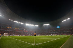 体育场人群ultras 库存照片