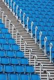 体育场位子和楼梯 图库摄影