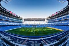 体育场圣地亚哥Bernabéu -马德里 库存图片