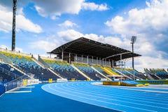 体育场在比得哥什,波兰 免版税库存照片