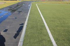 体育场在露天下 免版税库存照片