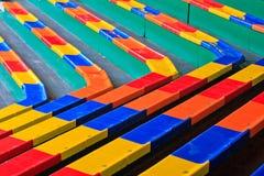 体育场椅子 库存照片