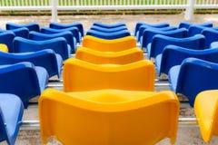体育场椅子 免版税图库摄影