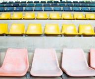 体育场椅子 图库摄影
