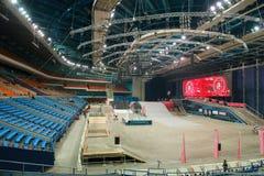 体育场炫耀复杂奥林匹克 免版税库存图片