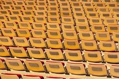 体育场的位子 免版税库存图片