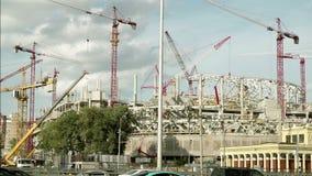 体育场的建筑 影视素材