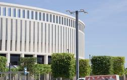 体育场`克拉斯诺达尔`的现代大厦 免版税库存照片