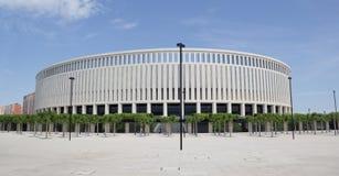 体育场`克拉斯诺达尔`的现代大厦 免版税库存图片
