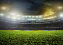 体育场 免版税库存图片