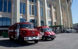 体育场Luzhniki在莫斯科, 免版税库存照片