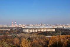 体育场Luzhniki在莫斯科 免版税图库摄影
