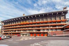 体育场Mestalla在巴伦西亚 图库摄影