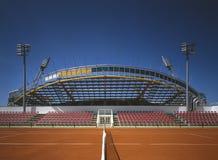 体育场tenis umag 库存照片