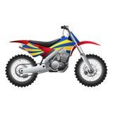 体育摩托车 库存照片