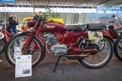 体育摩托车Laverda 75 Tarantina, 1952年 免版税图库摄影