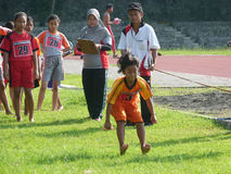 体育教训 免版税库存照片
