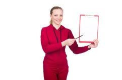 体育概念的妇女 免版税库存照片