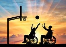 体育生活方式人的概念以伤残 免版税库存图片