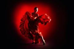 体育舞蹈家 免版税库存图片