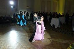 体育舞蹈竞争 库存图片