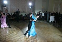 体育舞蹈竞争 免版税图库摄影