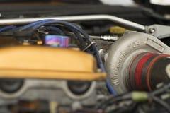 体育轮子轮胎坚果涡轮 图库摄影