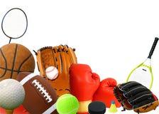 体育运动东西 库存图片