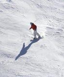体育运动冬天 库存图片