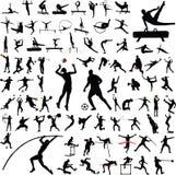 体育运动向量 免版税库存照片