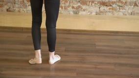体育运动员生活方式体操绳索训练 股票视频