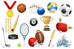 体育运动图标 免版税图库摄影