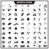 体育运动图标 图库摄影
