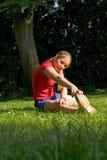 体育运动妇女 图库摄影