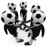 体育运动小组 免版税图库摄影