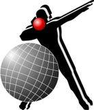 体育运动徽标 图库摄影