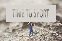 体育运动时间 免版税库存图片