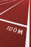 体育运动跟踪 免版税库存照片