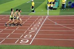体育运动集会,董事会鞋子比赛 图库摄影