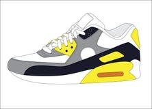 体育运动鞋子 图库摄影