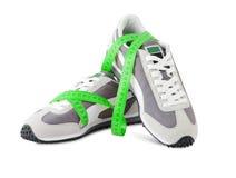 体育运动鞋子 免版税库存照片
